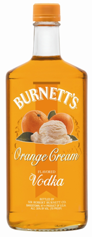 Burnetts Vodka Orange Cream